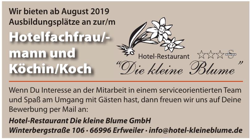 Hotel-Restaurant Die kleine Blume GmbH