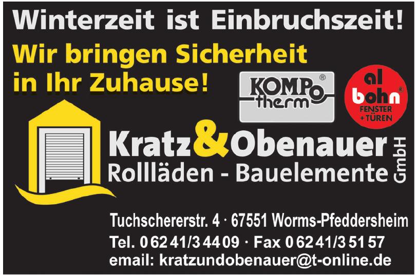 Kratz & Obernauer Rollläden - Bauelemente GmbH