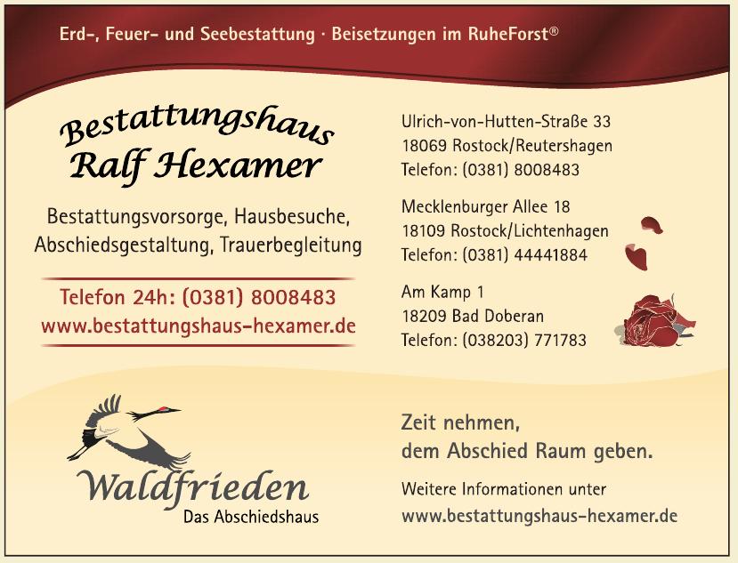 Bestattungshaus Ralf Hexamer