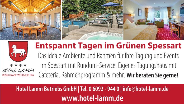 Hotel Lamm Betriebs GmbH