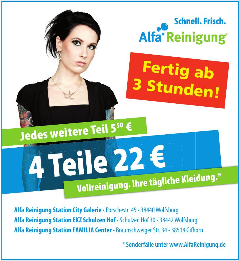 Alfa Reinigung Station City Galerie