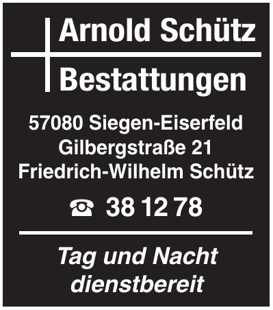 Arnold Schütz Bestattungen
