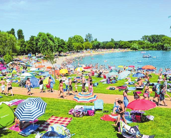 Ein perfektes Sommererlebnis erwartet die Gäste in der Thermen & Badewelt Sinsheim. Bild: Thermen & Badewelt Sinsheim