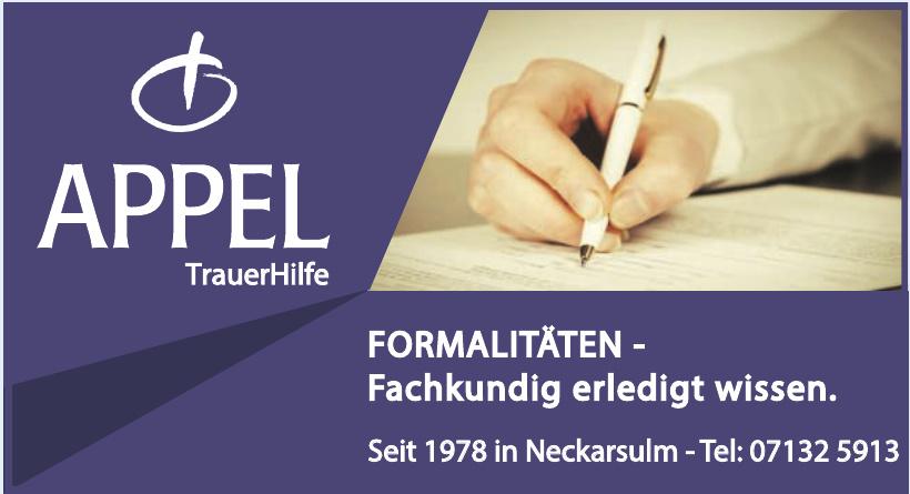 Appel TrauerHilfe