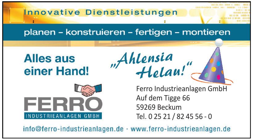 Ferro Industrieanlagen