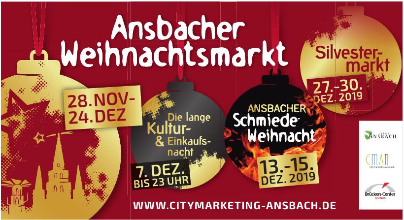 Ansbacher Weihnachtsmarkt