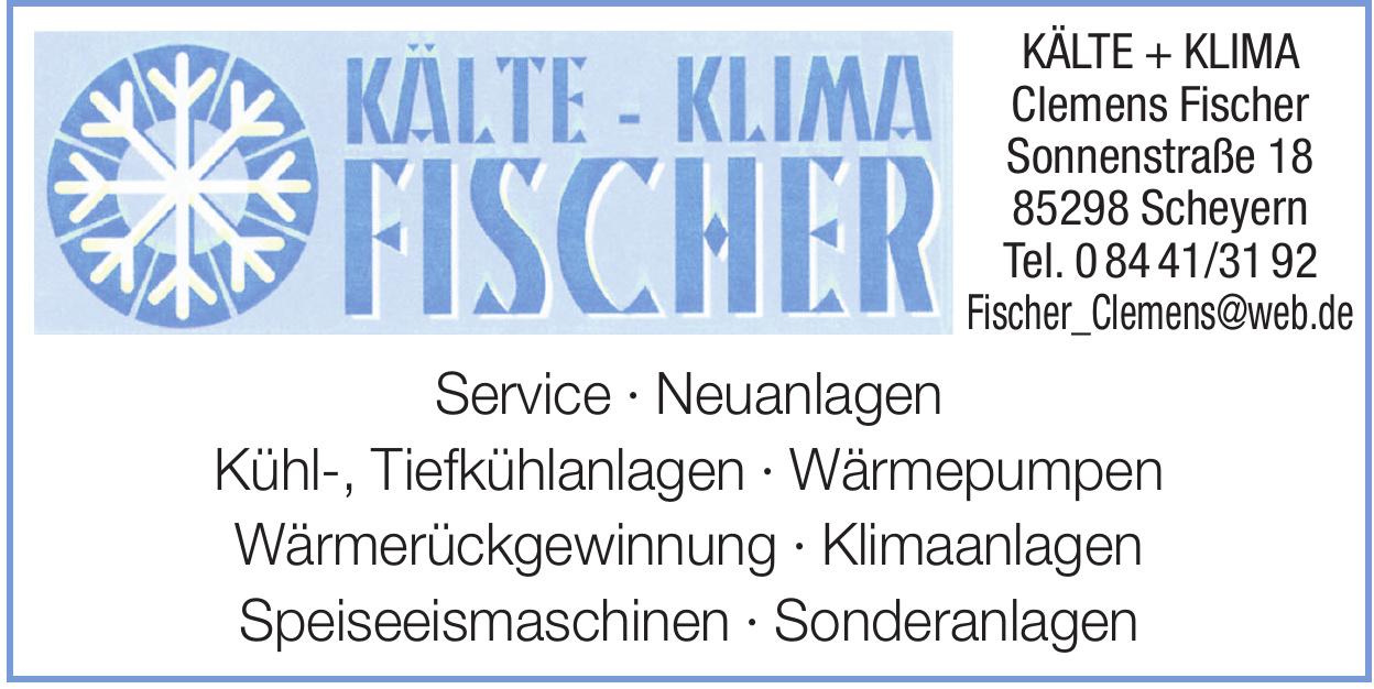 KÄLTE + KLIMA Clemens Fischer