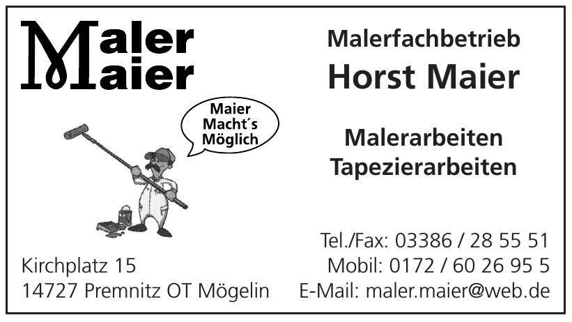 Horst Maier