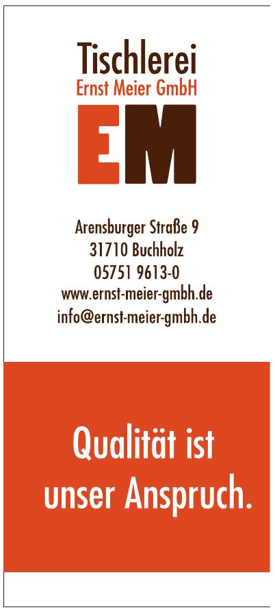 Tischlerei Ernst Meier GmbH