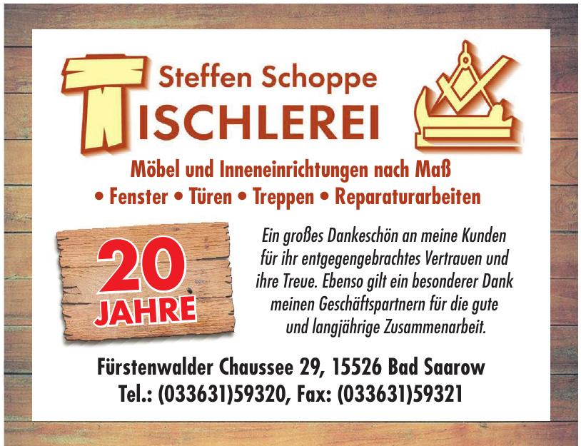 Tischlerei Steffen Schoppe