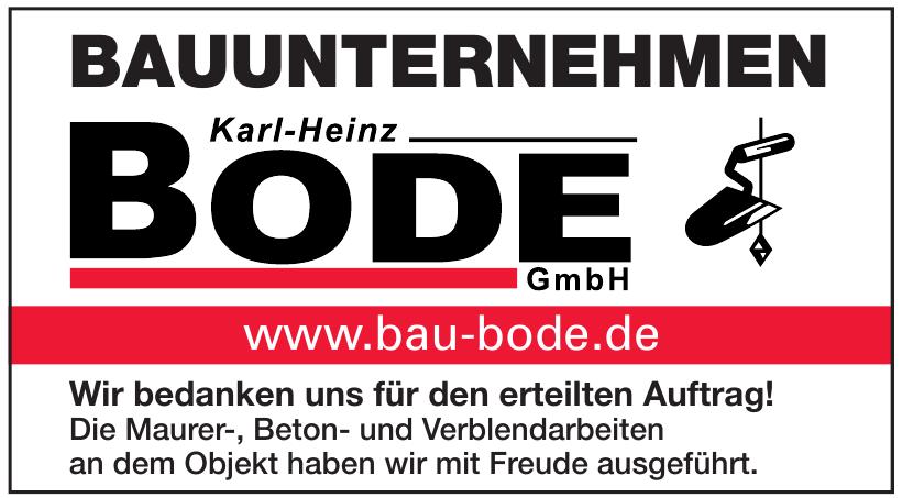 Bauunternehmen Bode GmbH