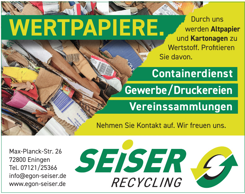 Seiser Recycling