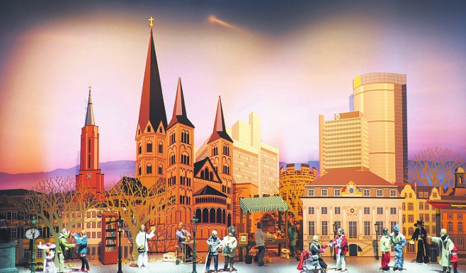 Die Krippe des letzten Jahres. Foto: Bonner Münster