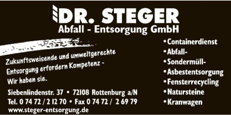 Dr. Steger Abfall - Entsorgung GmbH