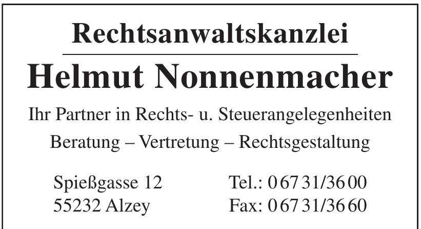 Rechtsanwaltskanzlei Helmut Nonnenmacher