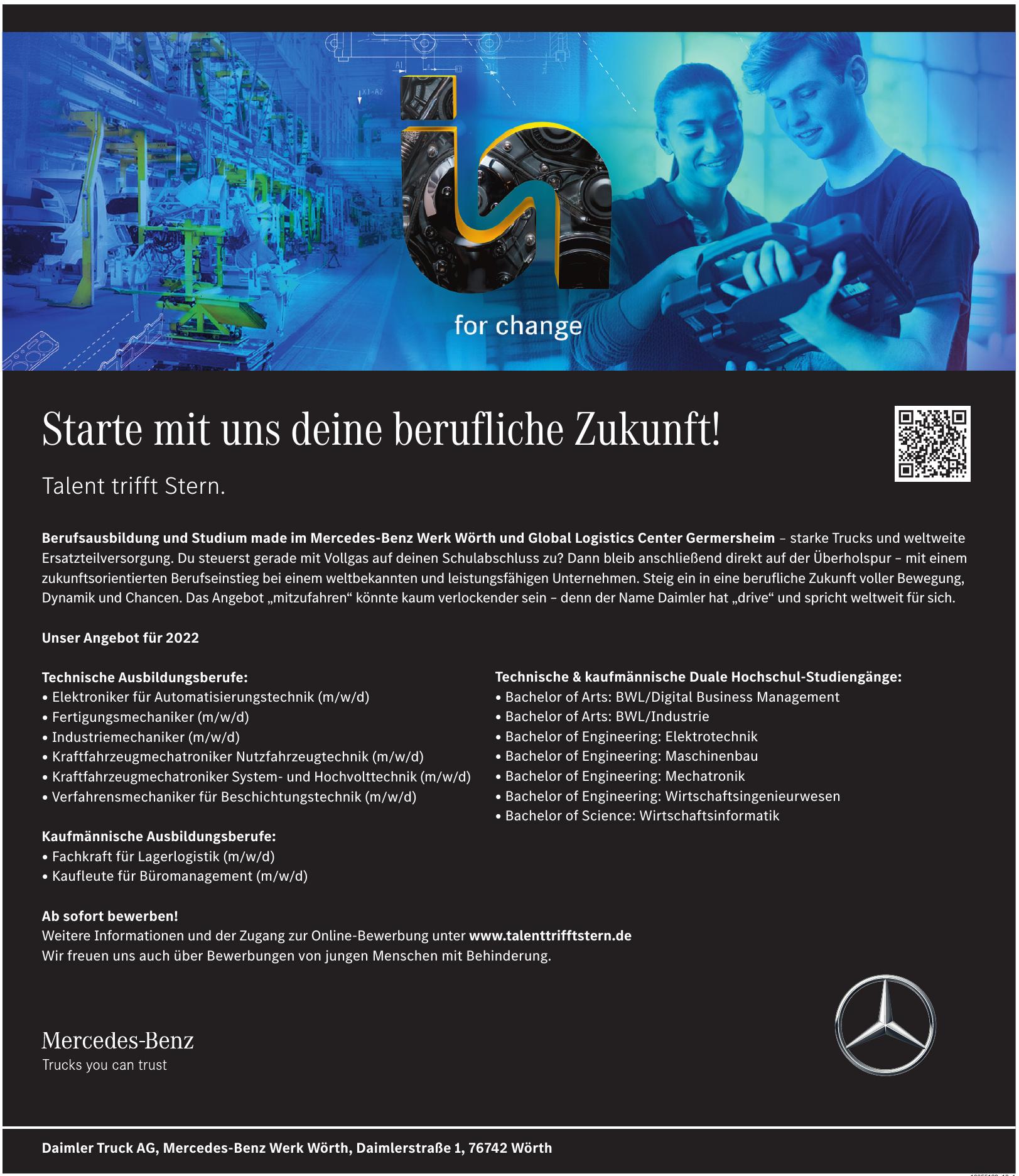Daimler Truck AG, Mercedes-Benz Werk Wörth