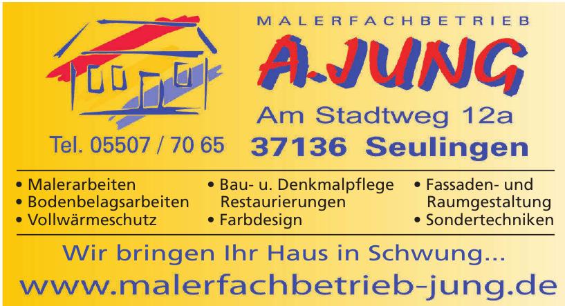 Malerfachbetrieb A. Jung