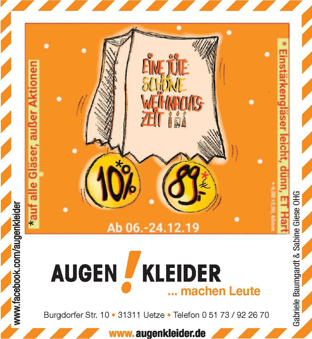 Augen Kleider Gabriele Baumgardt & Sabine Giese GbR