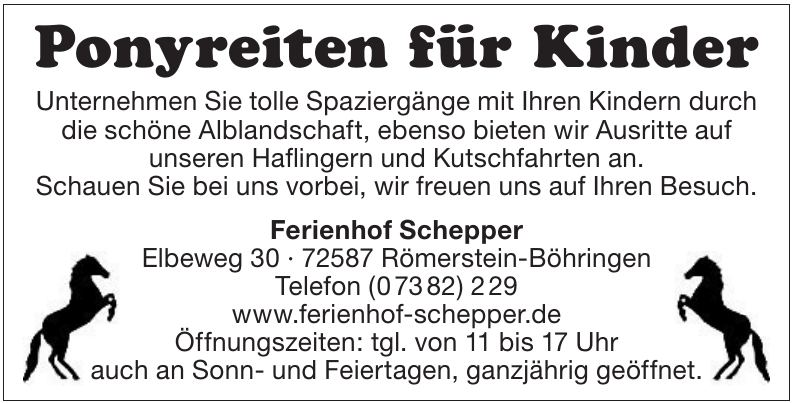 Ferienhof Schepper