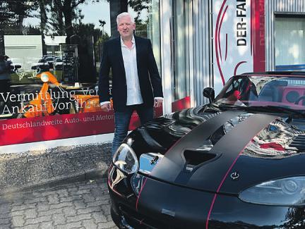 Torsten Genske unterbreitet gern maßgeschneiderte Angebote für die Fahrzeugaufbereitung Foto: pr