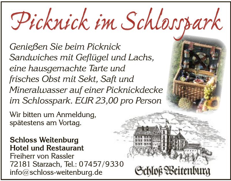 Schloss Weitenburg Hotel und Restaurant