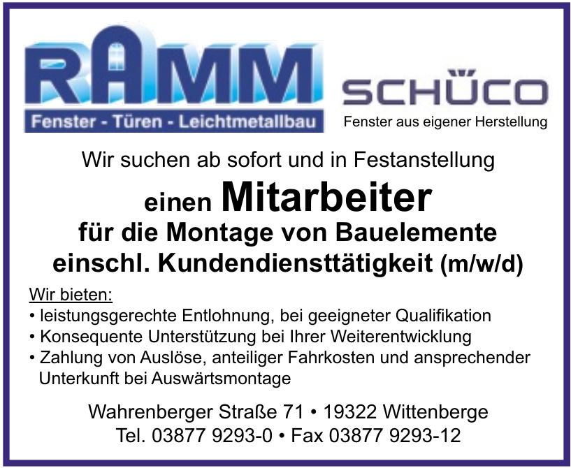 Ramm Schüco