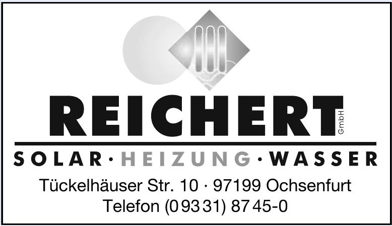 Reichert GmbH – Solar Heizung Wasser