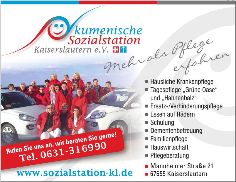 Ökumenische Sozialstation Kaiserslautern e.V.