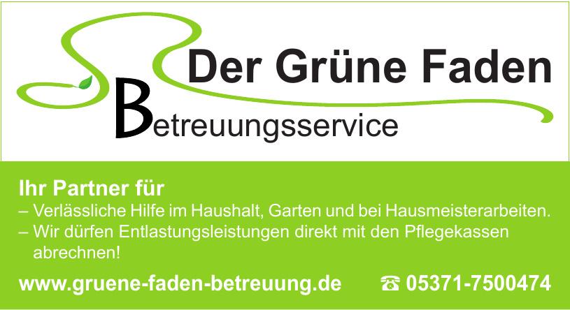 Der Grüne Faden Betreuungsservice