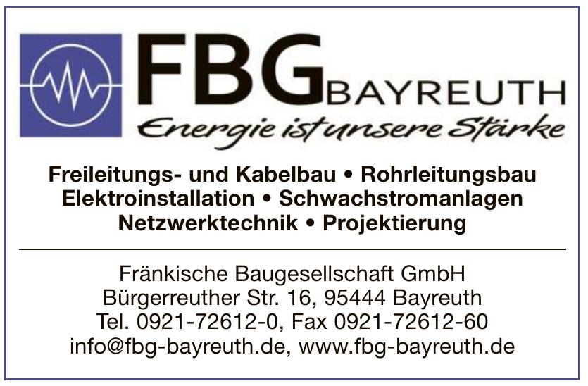 Fränkische Baugesellschaft GmbH