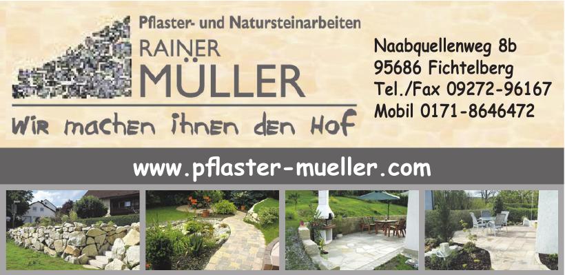 Pflaster Rainer Müller