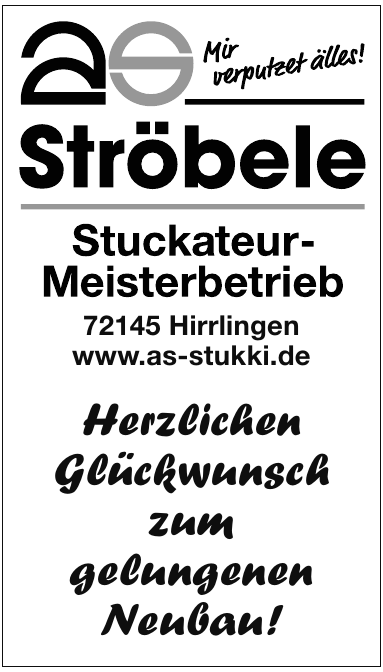 Ströbele Stuckateurbetrieb GmbH & Co. KG
