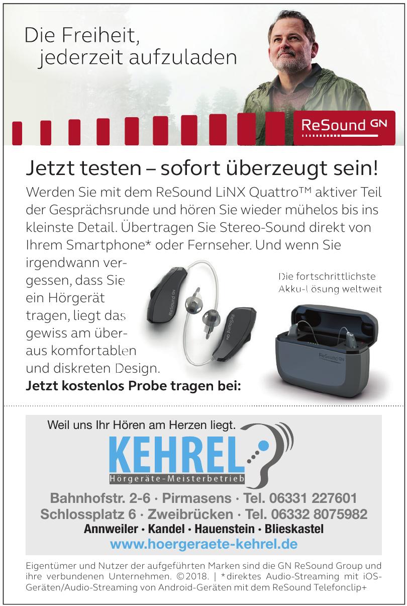 Kehrel Hörgeräte-Meisterbetrieb