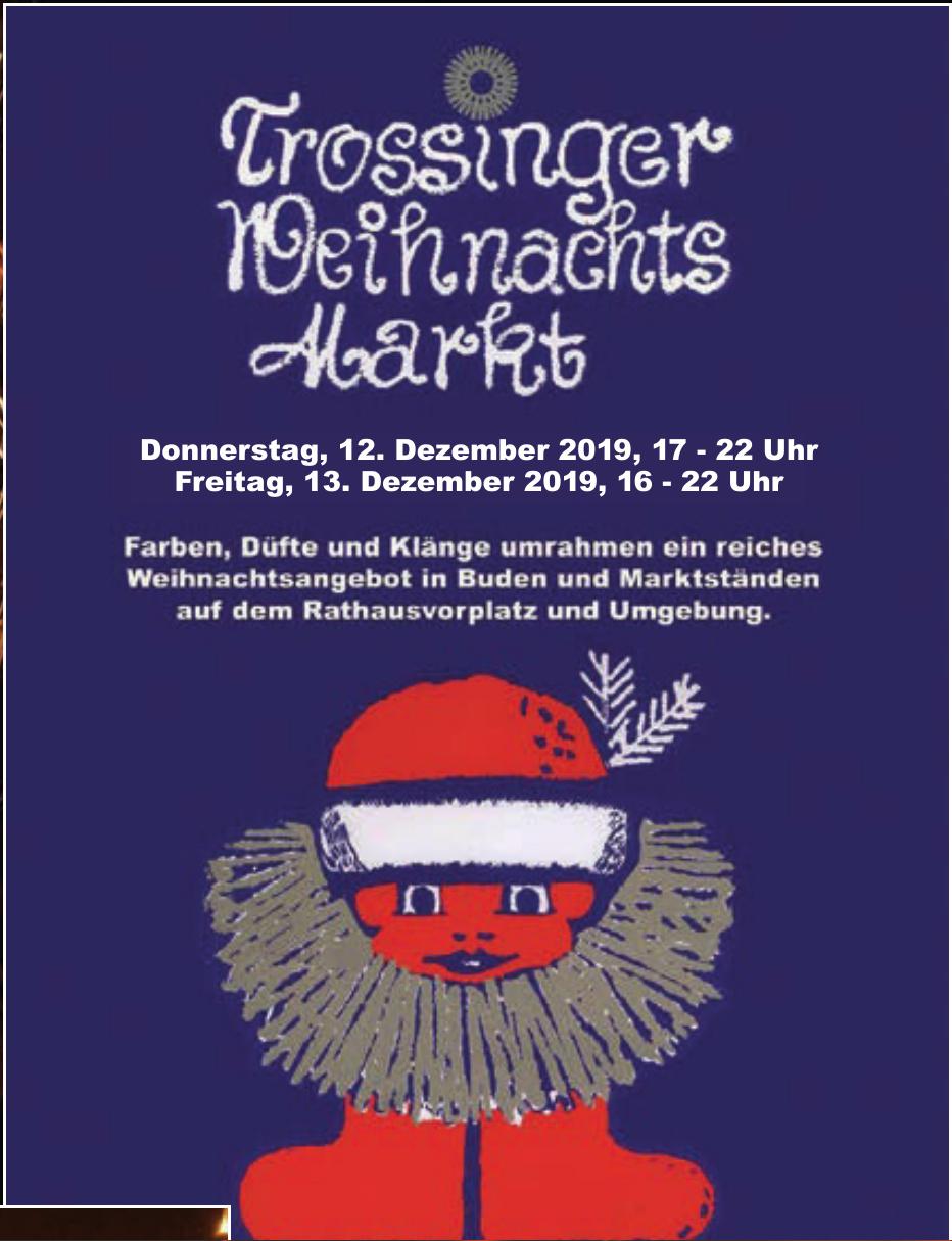 Trossinger Weihnachts Martk