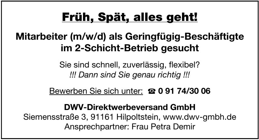 DWV-Direktwerbeversand GmbH