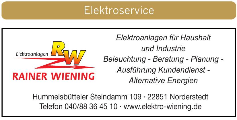 Elektroanlagen Rainer Wiening