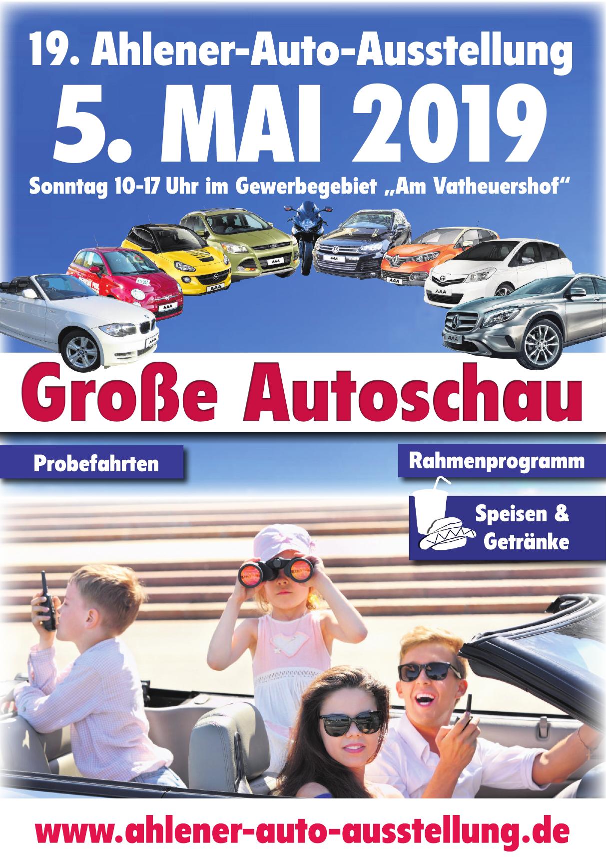 19. Ahlener-Auto-Ausstellung