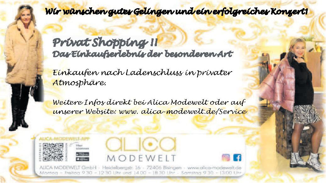 Alica Modewelt GmbH