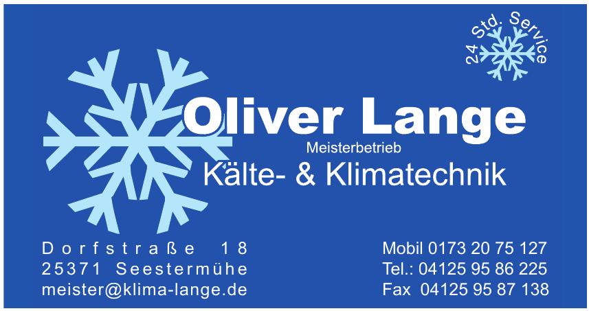 Oliver Lange Meisterbetrieb