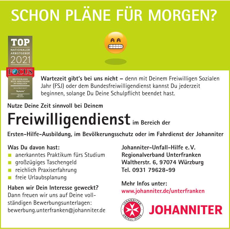 Johanniter-Unfall-Hilfe e. V. Regionalverband Unterfranken