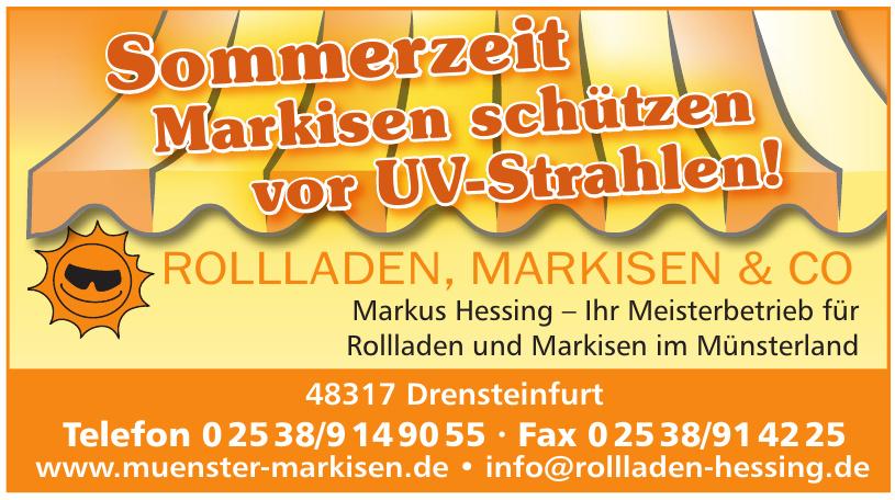 Rolladen, Markisen & Co Markus Hessing