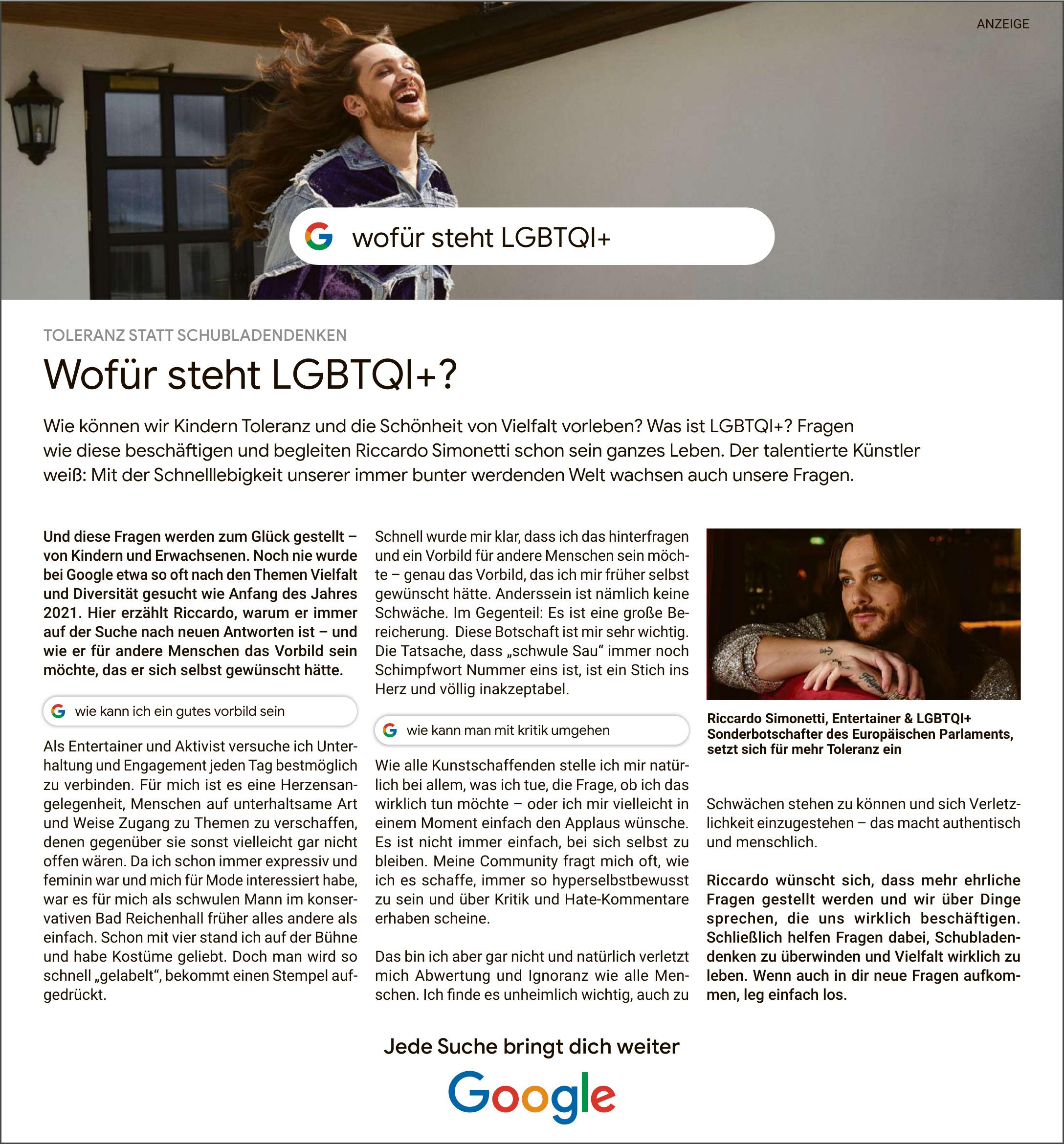Wofür steht LGBTQI+?