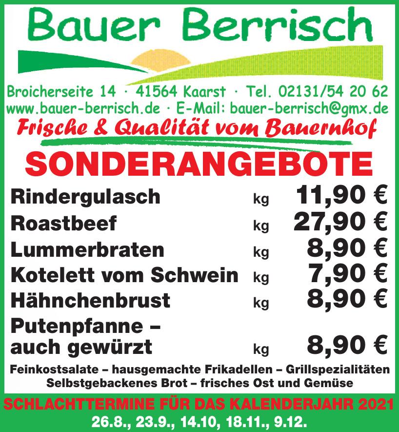 Bauer Berrisch