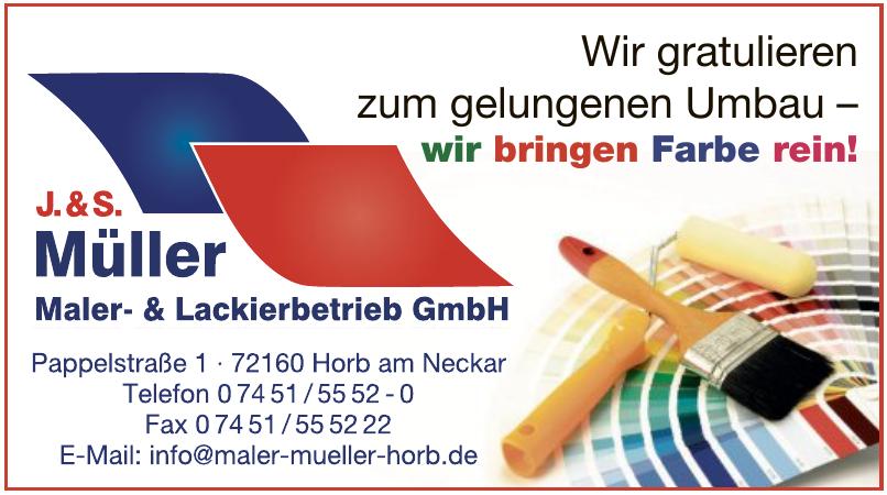 J.&S. Müller Maler- & Lackierbetrieb GmbH