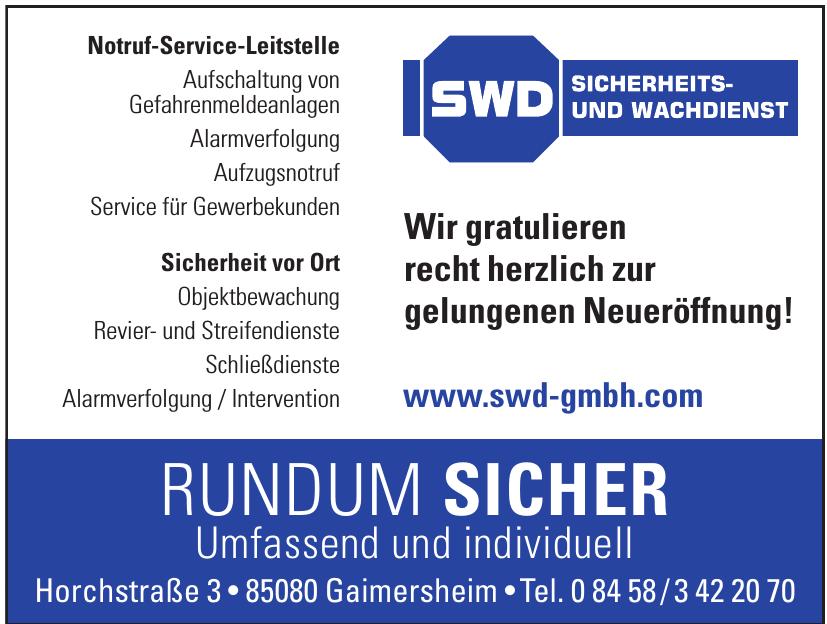 SWD Sicherheits- und Wachdienst