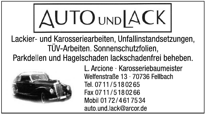 Auto und Lack