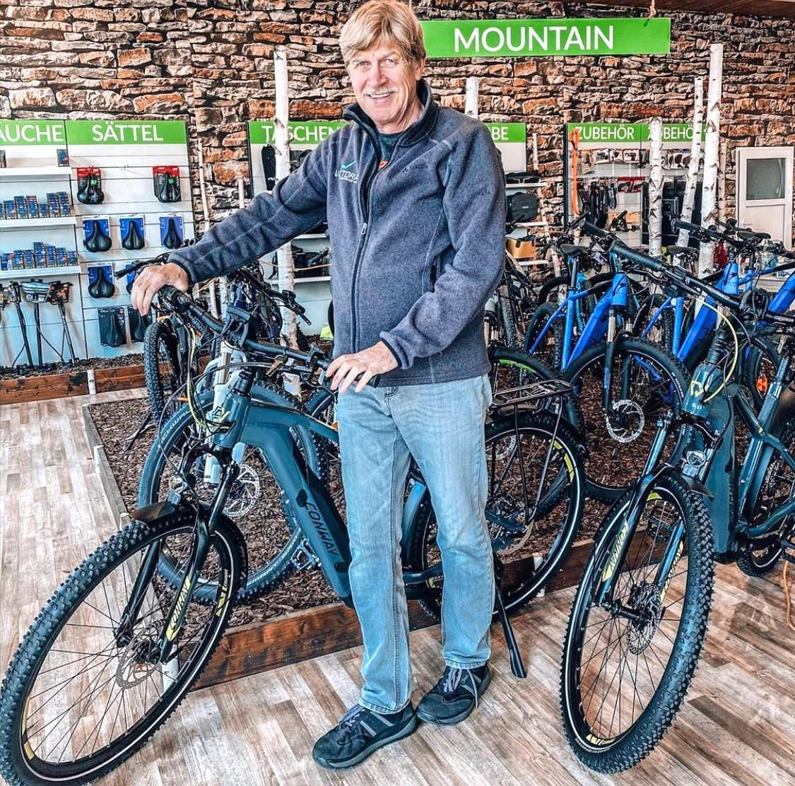 Das Zweiradcenter Landesvatter in der Leingartener Benzstraße ist der kompetente Ansprechpartner für alle Fragen rund um E-Bikes und Pedelecs. Foto: privat