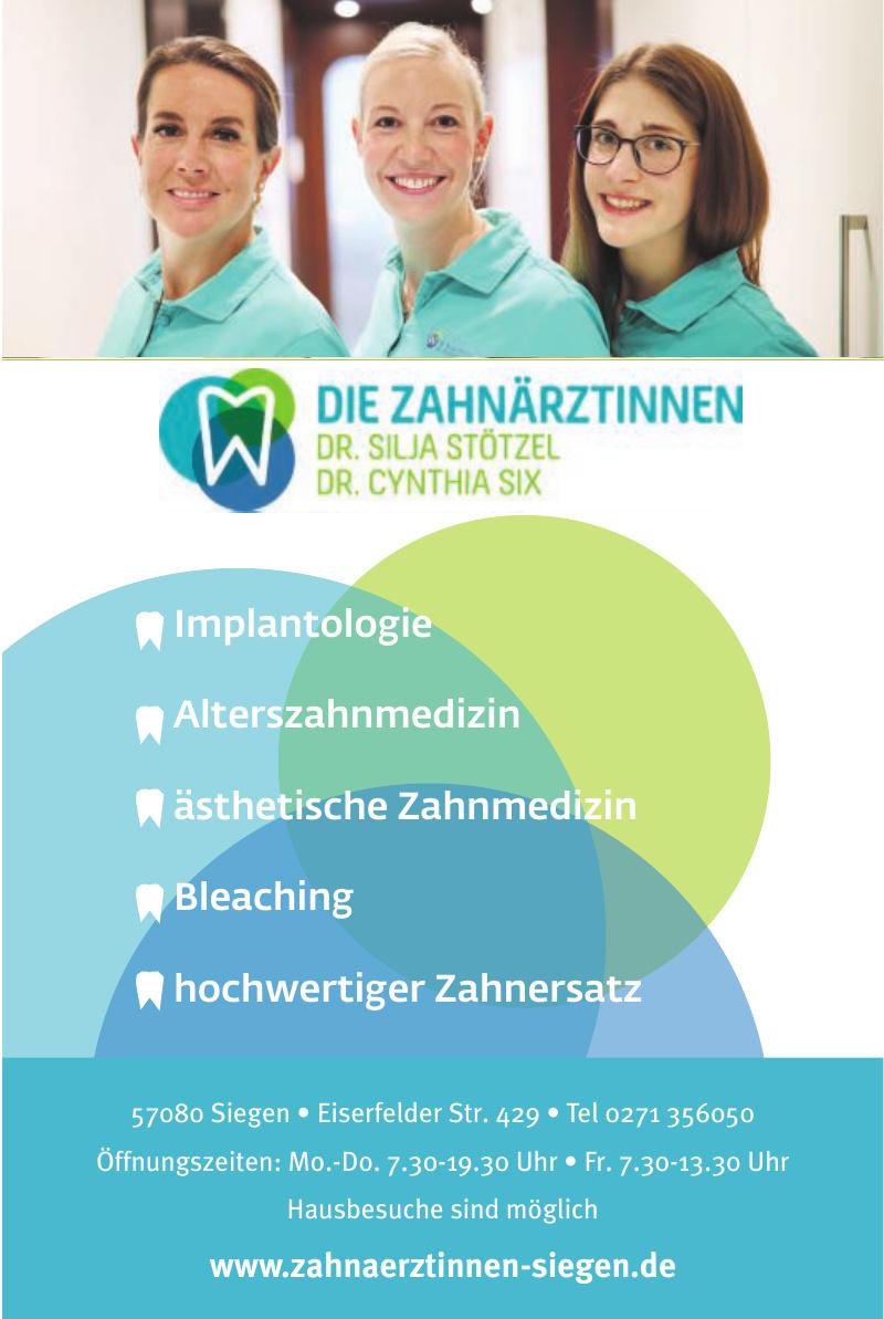 Die Zahnärztinnen Dr. Silja Stötzel & Dr. Cynthia Six