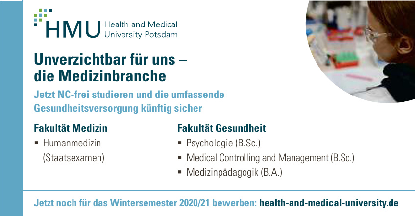 HMU Health and Medical University Potsdam