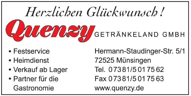 Quenzy Getränkeland GmbH